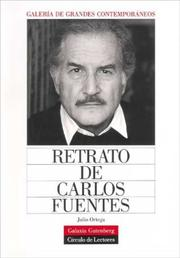 Cover of: Retrato de Carlos Fuentes