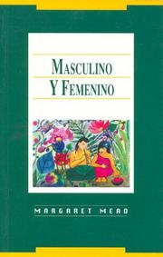 Cover of: Masculino y Femenino