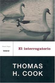 Cover of: El Interrogatorio / The Interrogation (Genero Negro) (Genero Negro)