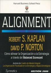Cover of: Alignment