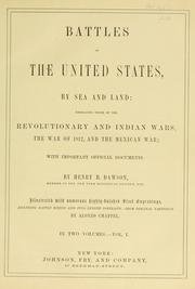 Cover of: Battles of the United States, by sea and land