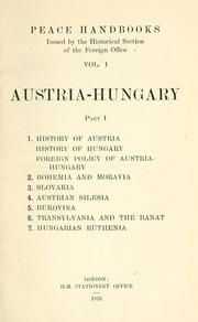 Cover of: Peace handbooks