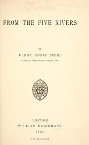 Cover of: From the five rivers