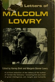 Cover of: Selected letters of Malcolm Lowry