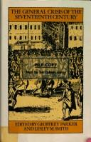 Cover of: The general crisis of the seventeenth century