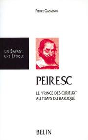 Cover of: Peiresc, 1580-1637