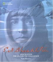 Cover of: Shackleton, the Antarctic challenge