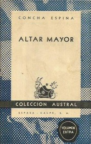 Cover of: Altar mayor
