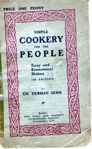 Cover of: Simple cookery for the people