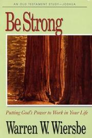 Cover of: Be strong
