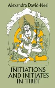 Cover of: Initiations lamaïques