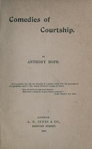 Cover of: Comedies of courtship