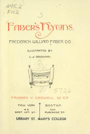 Cover of: Faber's hymns