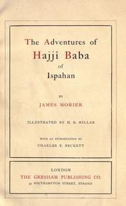 Cover of: Adventures of Hajjî Baba of Ispahan