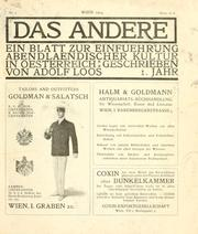 Cover of: Das Andere