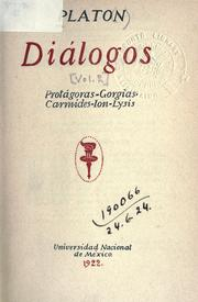 Cover of: Diálogos