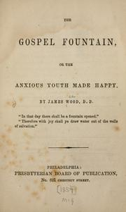 Cover of: The gospel fountain or, The anxious youth made happy