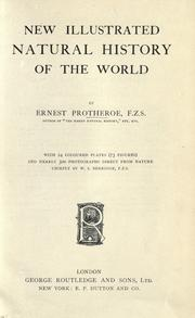 Cover of: New illustrated natural history of the world