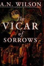 Cover of: The vicar of sorrows