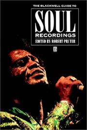 Cover of: The Blackwell guide to soul recordings