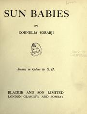 Cover of: Sun-babies