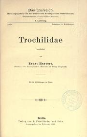 Cover of: Trochilidae