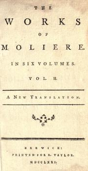 Cover of: The works of Moliere