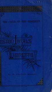Cover of: La fille du régiment