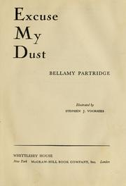 Cover of: Excuse my dust