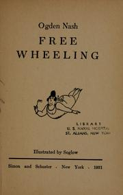 Cover of: Free wheeling