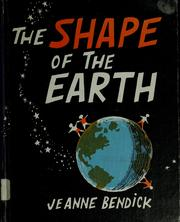 Cover of: The shape of the earth