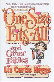 Cover of: One size fits all