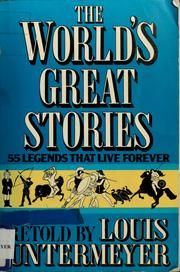 Cover of: The world's great stories