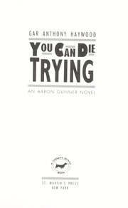 Cover of: You can die trying