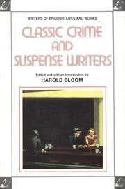 Cover of: Classic crime and suspense writers