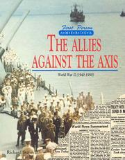 Cover of: The Allies against the Axis