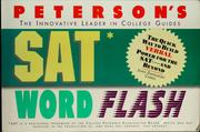 Cover of: SAT word flash