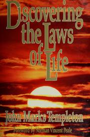 Cover of: Discovering the laws of life