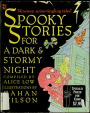 Cover of: Spooky Stories for a Dark & Stormy Night