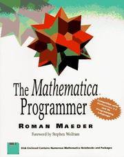 Cover of: The Mathematica programmer