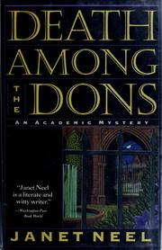 Cover of: Death among the dons