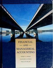 Cover of: Fundamentals of financial and managerial accounting