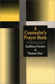 Cover of: A counselor's prayerbook