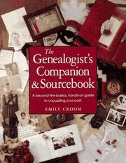 Cover of: The genealogist's companion and sourcebook