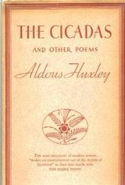 Cover of: The cicadas and other poems