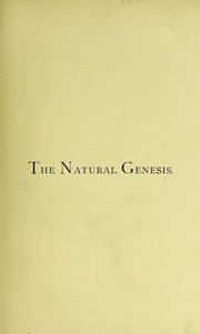 Cover of: The Natural Genesis