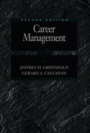 Cover of: Career management