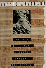 Cover of: Sappho, a garland