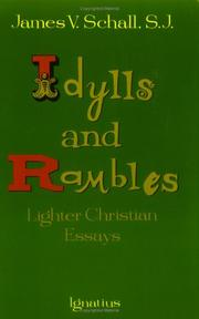Cover of: Idylls and Rambles
