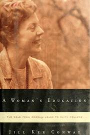 Cover of: A woman's education